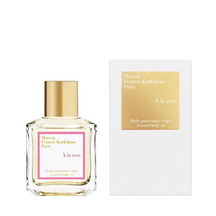 Maison Francis Kurkdjian - huile parfumante corps à la rose