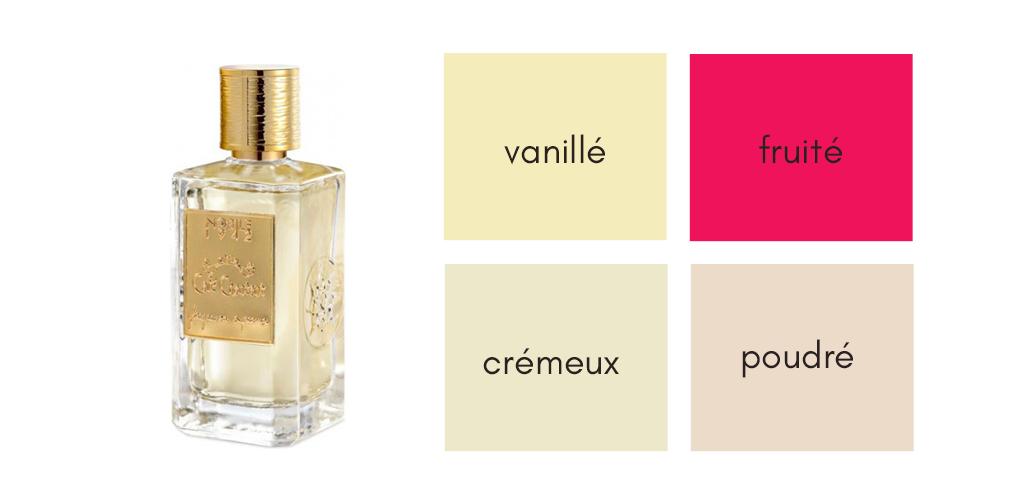 Café chantant - parfum vanille