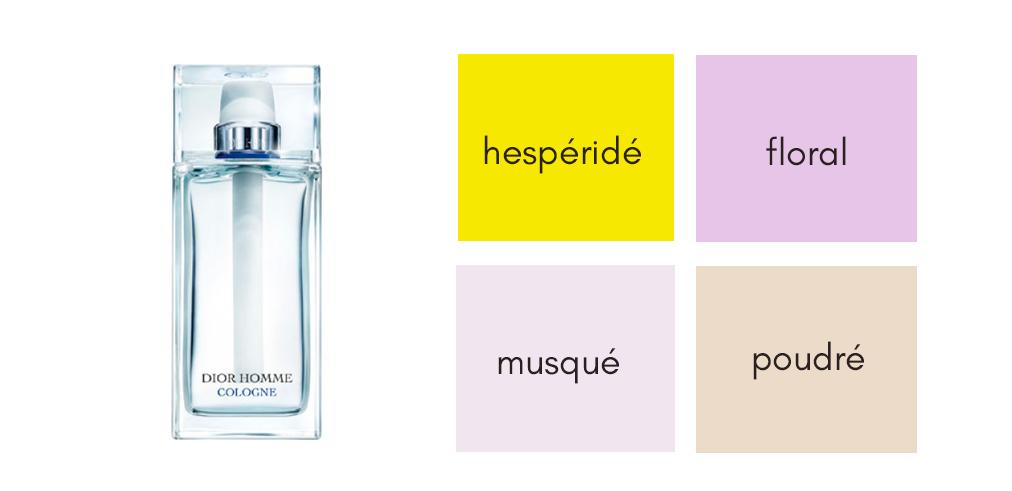 Parfum d'été messieurs - Dior Homme cologne