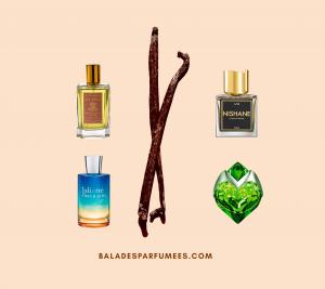 6 parfums originaux à la vanille